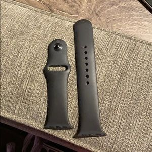 Apple Watch Sports Band Black